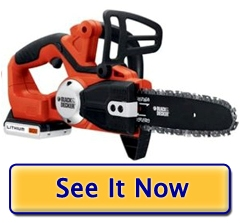 Black and Decker LCS120 Cordless ChainSaw