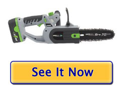 Earthwise CCS30008 18 Volt cordless chainsaw